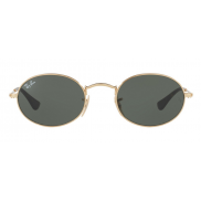 Ray Ban Oval Flat Lenses