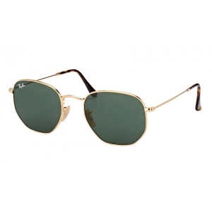 Очки Ray Ban Hexagonal Flat Lenses RB 3548N 001