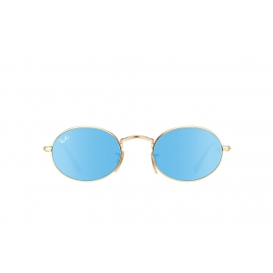 Очки Ray Ban Oval Flat Lenses RB 3547N 001/9O