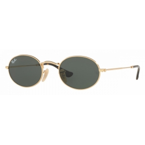 Очки Ray Ban Oval Flat Lenses RB 3547N 001