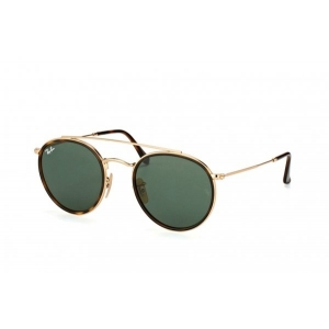 Очки Ray Ban Round Double Bridge RB 3647N 001