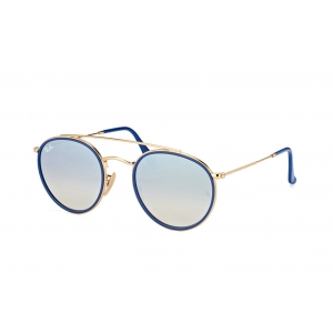 Очки Ray Ban Round Double Bridge RB 3647N 001/9U