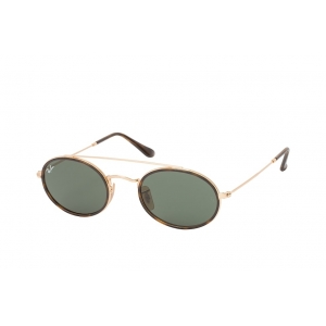 Очки Ray Ban Oval Double Bridge RB 3847N 9121/31